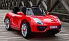 Детский электромобиль Porsche T-7616 красный