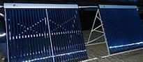 Система солнечных коллекторов для круглогодичного водоснабжения в с. Марьевка