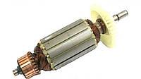 Якорь тст-н болгарки Stern AG-125, Powertec 125 (38*151 мм, хвостовик - шпонка 8 мм)