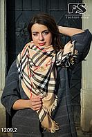 Кашемировый брендовый платок Burberry (реплика)