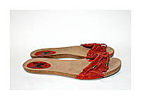 Stradivarius. Брендовая женская обувь. Стильные тапочки.