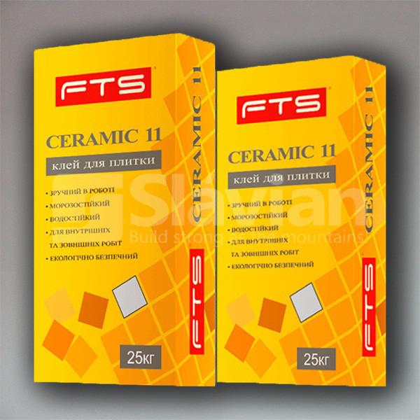 Клей для плитки FTS «CERAMIC 11», 25кг