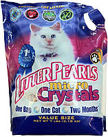Litter Pearls Микро Кристаллс (Micro Crystals) кварцевый наполнитель для туалетов котов, 10л (4,77кг)