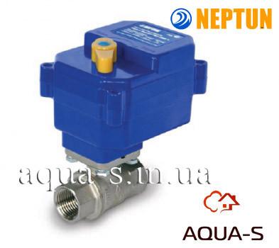 Кран с электроприводом Neptun Bugatti Pro 220B 3/4'' для систем контроля протечки (Нептун)