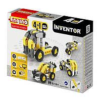 Конструктор Engino Inventor 4 в 1 Строительная техника (434)