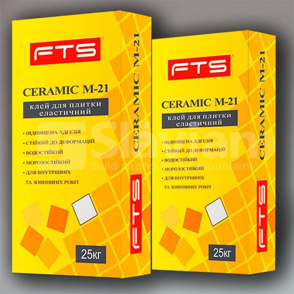 Клей для плитки FTS «CERAMIC 21», 25кг