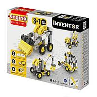 Конструктор Engino Inventor 8 в 1 Строительная техника (834)