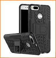 Противоударный двухслойный чехол Shield для Xiaomi MI A1 / MI 5X Black
