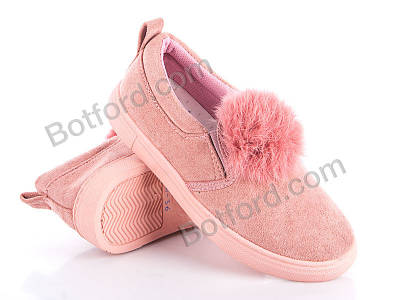 Слипоны Ok Shoes 003-3 розовый