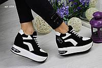 Женские кроссовки на платформе (1054)