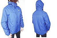 Куртка мужская Berg Outdoor р-р L (сток, б/у) весна-осень, синяя, тёплая