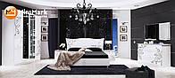 """Спальня"""" Богема"""" глянец белый. Доставка по Украине. Гарантия качества"""