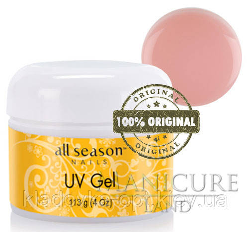 Моделирующий UV гель All Season (розовый)  113 г