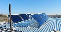 Комплексная система солнечных коллекторов для гостинично-ресторанного комплекса в г. Южноукраинск
