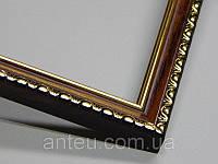 Рамка для картин 30*30 со стеклом, профиль 17 мм (код 1706-3030)