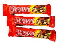 Вафлі в шоколаді з фундуком COKONAT33гр.Х24Х6