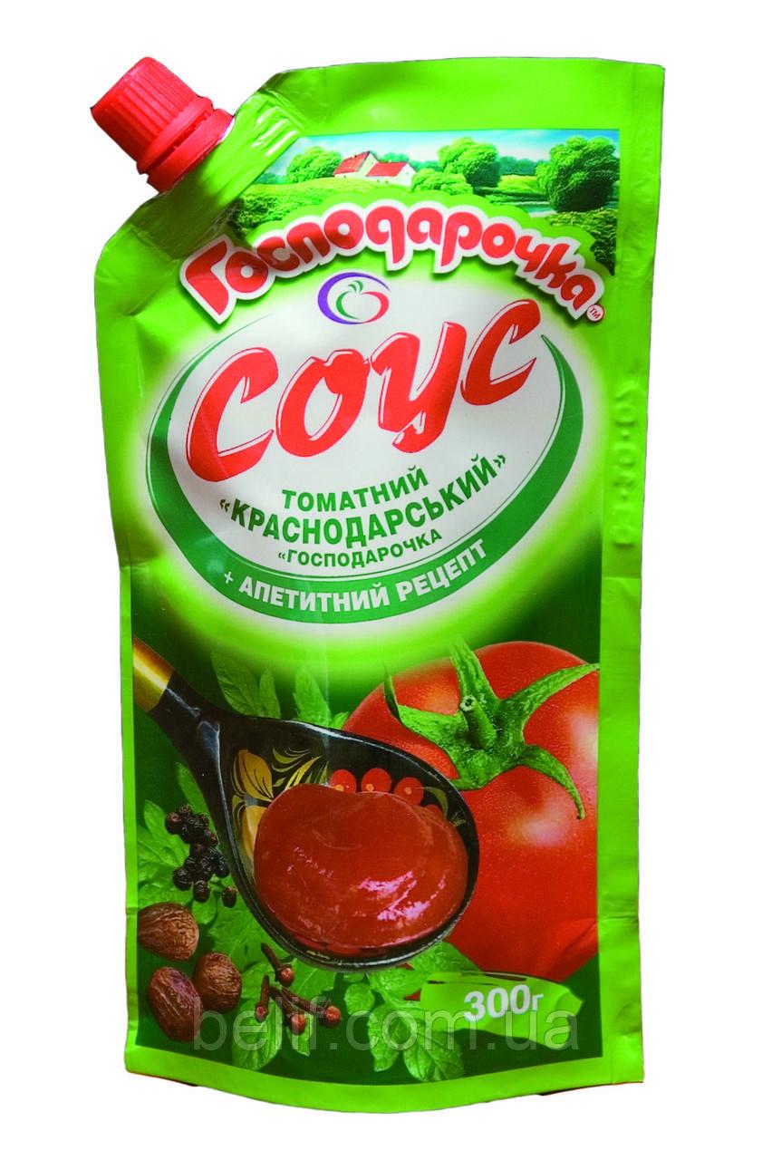 Господарочка Соус томатний Краснодар  дой-пак300г