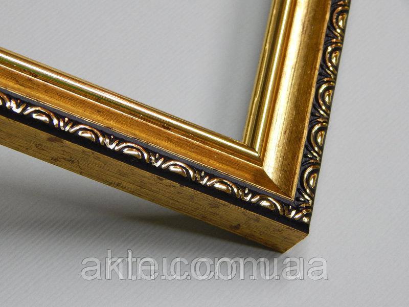 Рамка для картин 30*30 со стеклом, профиль 17 мм (код 1703-3030)