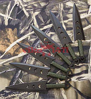 Набор метательных ножей 6 штук, подойдет для начинающих