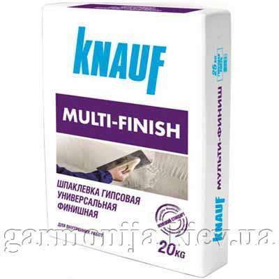 Шпаклевка KNAUF Multi-Finish гипсовая, 25 кг