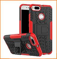 Противоударный двухслойный чехол Shield для Xiaomi MI A1 / MI 5X Red