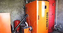 """Система отопления и горячего водоснабжения для свинофермы """"Світанок"""""""