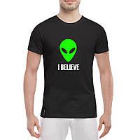 Футболка с печатью принта Инопланетянин, фото 1