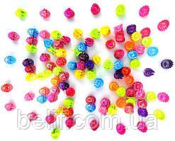 Заколка, КРАБИК Ромашка Разноцветная B3607-7 (100 шт.)