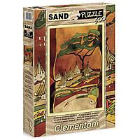Пазл Clementoni с песочным эффектом Деревня 500 элементов (30351)