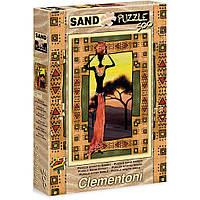 Пазл Clementoni с песочным эффектом Женщина Etnical 500 элементов (30353)