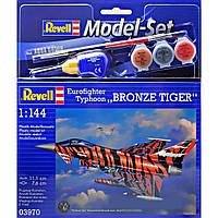 Сборная модель Revell Истребитель Eurofighter Bronze Tiger 1:144 (63970)