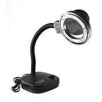 Лампа-лупа LED (настольная)