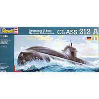 Сборная модель Revell Подводная лодка New German Submarine U212 1:144 (5019)