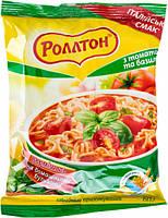 Ролтон Вермішель шв. приготування з томатами та базиліком  60 г