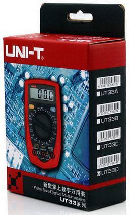 Цифровой мультиметр UNI-T UT33C, фото 2