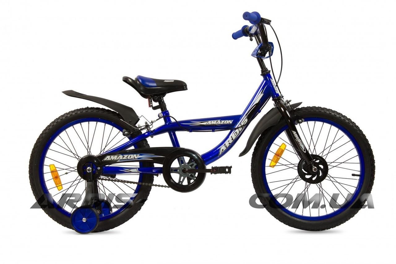 "Детский велосипед ARDIS AMAZON BMX 20""  Синий"