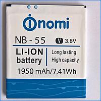 Аккумулятор (батарея) Nomi i505 NB-55