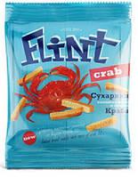 Сухарики ФЛІНТ 35 гр. пшенично-житні зі смаком крабу