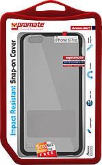 Чехол для iPhone Promate Amos-i6P Black