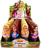 Фигурка шоколадная с сюрпризом 24 шт. 38 гр. Принцессы