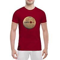 Футболка с печатью принта Mars One, фото 1
