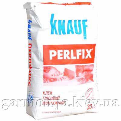 Клей для гипсокартона Knauf Perlfix, 30 кг, белый, фото 2