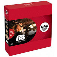 Набор тарелок для ударных, Crash, Ride, Hi-Hat SABIAN B8 Performance Set w/bag