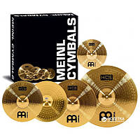Splash, Hi-Hat, Crash, Ride, набор тарелок для ударных Meinl Набір тарілок HCS141620+10 HCS Complete Cymbal Set-Up (14 Hihat, 16 Crash, 20 Ride + 10