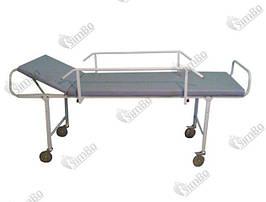 Каталка для транспортировки пациентов с боковым ограждением КТП - ПОД ЗАКАЗ