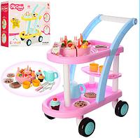 Детская тележка магазин с продуктами 889-16A-15A