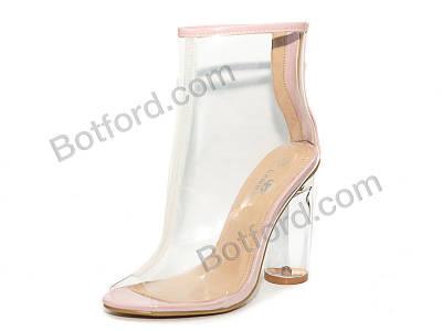 Ботинки Башили K1200-10 розовый