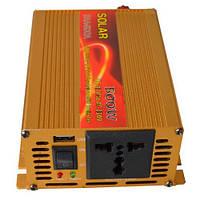Инвертор c 12V в 220V Solar SAA-500A +USB