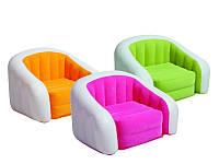 Надувное кресло-лоундж CAFE INTEX 68571