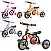 Детский трехколесный велосипед-самокат M 0688-2***